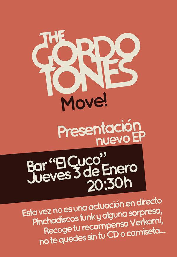Presentación mundial del nuevo EP de The Gordotones: Move!