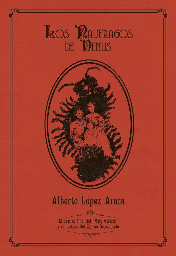 """LA PORTADA DE """"LOS NÁUFRAGOS DE VENUS"""", por Sergio Bleda"""