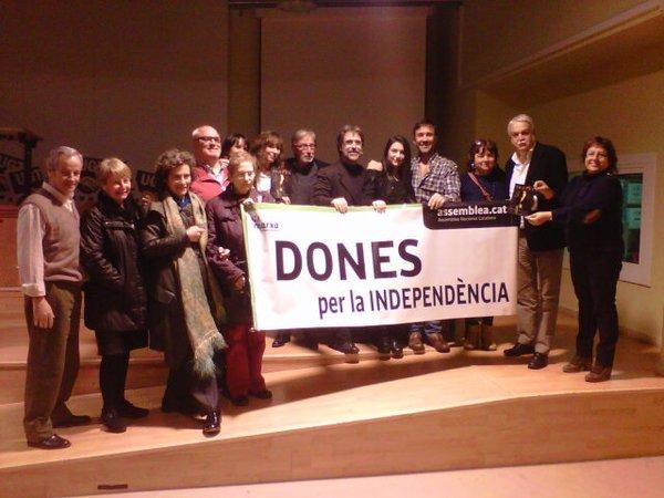 """Homenatge a Isabel Vilà i Presentació a Barcelona de l'Obra Musical """"IsaVel"""" en un acte organitzat per l'ANC"""