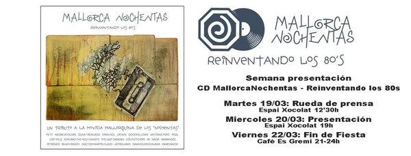 Presentación CD MallorcaNochentas