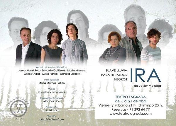 Carlos Olalla (actor de Vocabulario) estrena obra de teatro en Madrid
