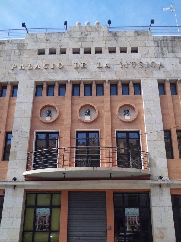 """Concierto 19 de Mayo en el """"Palacio de la Música"""" de Buñol."""