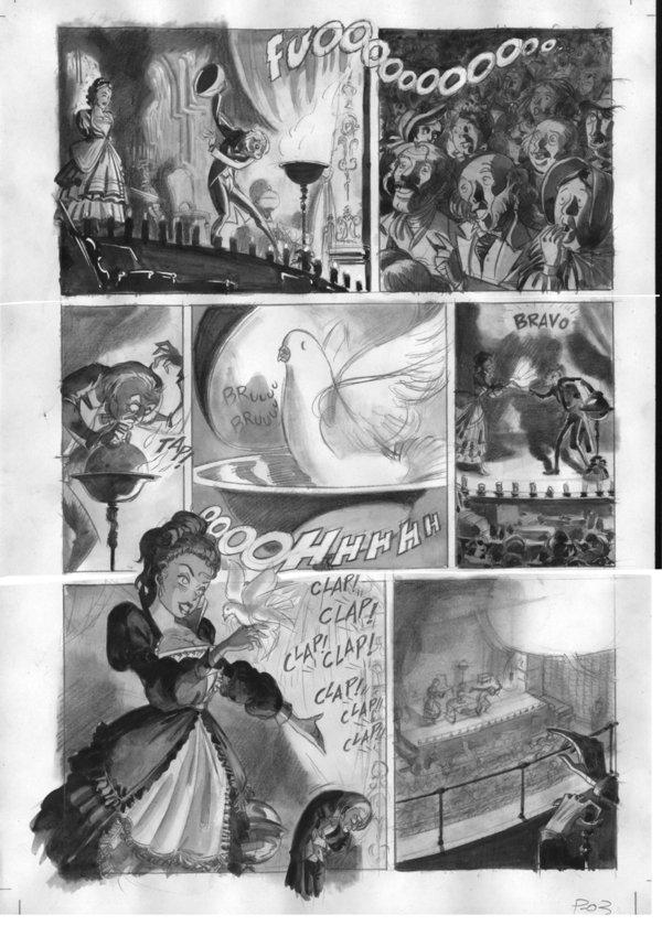Una página original de David Belmonte
