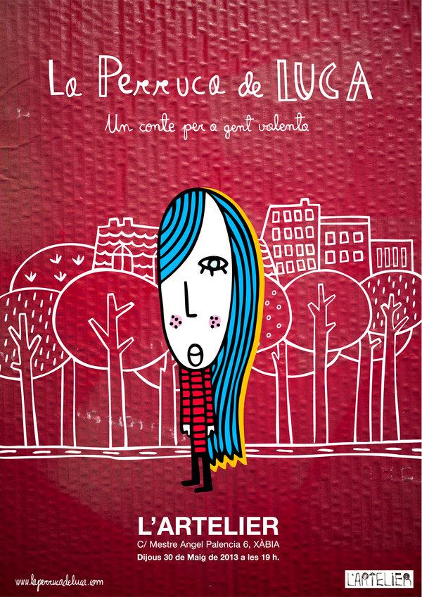 LLoverán pelucas en L'ARTELIER de XÀBIA el jueves 30 de mayo a las 19:00 h. / Plouran perruques a L'ARTELIER de XÀBIA el dijous 30 de maig a les 19:00 h.