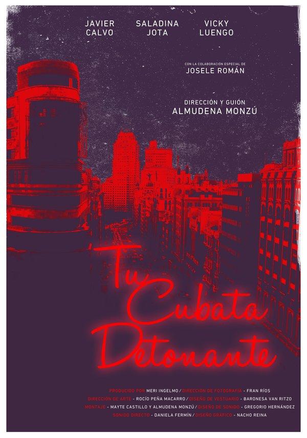 Cartel para TCD por Nacho Reina / Nacho Reina's TCD Film Poster